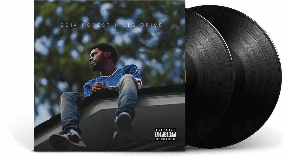 Vinyl - J. Cole <br> 2014 Forest Hills Drive - The Record Hub
