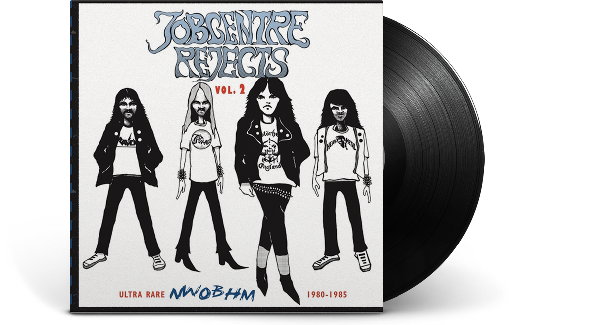 Vinyl - Various Artists : Jobcentre Rejects Vol 2- Ultra rare NWOBHM 1980-1985 - The Record Hub