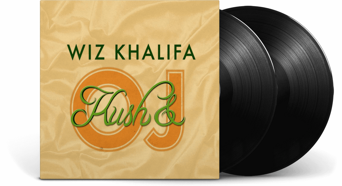 Vinyl - Wiz Khalifa<br> Kush & Orange Juice - The Record Hub