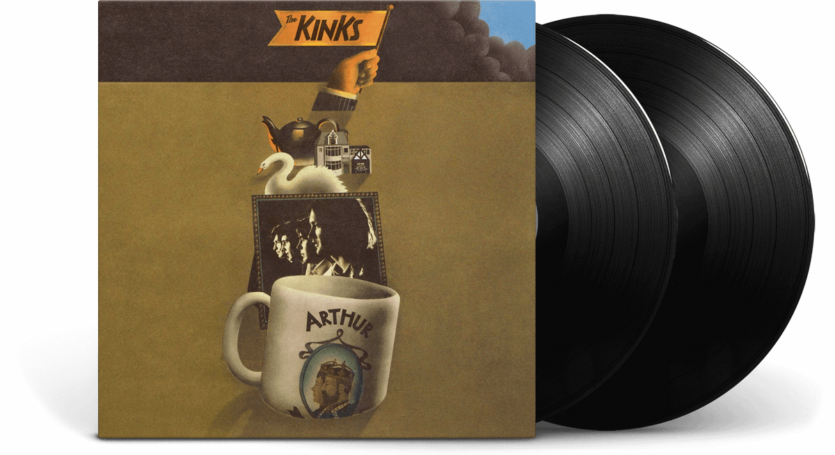 Vinyl - The Kinks : Arthur or the Decline and Fall of the British Empire - The Record Hub