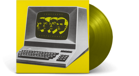 Vinyl - Kraftwerk : Computerwelt (German Version) (Translucent Yellow Vinyl) - The Record Hub