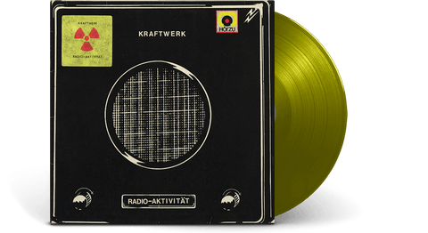 Vinyl - Kraftwerk : Radio-Aktivität (German Version) (Translucent Yellow Vinyl) - The Record Hub