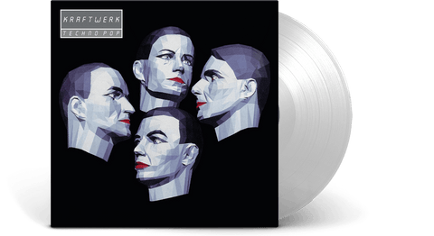 Vinyl - Kraftwerk : Techno Pop (Clear vinyl) - The Record Hub