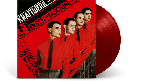 Vinyl - Kraftwerk : Die Mensch-Maschine (German Version)(Translucent Red Vinyl) - The Record Hub