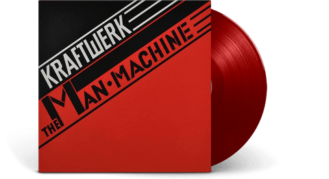 Vinyl - Kraftwerk : The Man-Machine (Translucent red vinyl) - The Record Hub