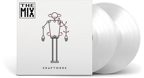 Vinyl - Kraftwerk : The Mix (White vinyl) - The Record Hub