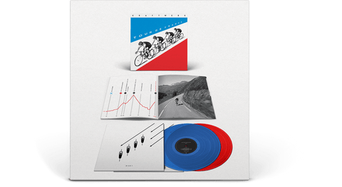 Vinyl - Kraftwerk : Tour De France (Blue/Red Vinyl) - The Record Hub