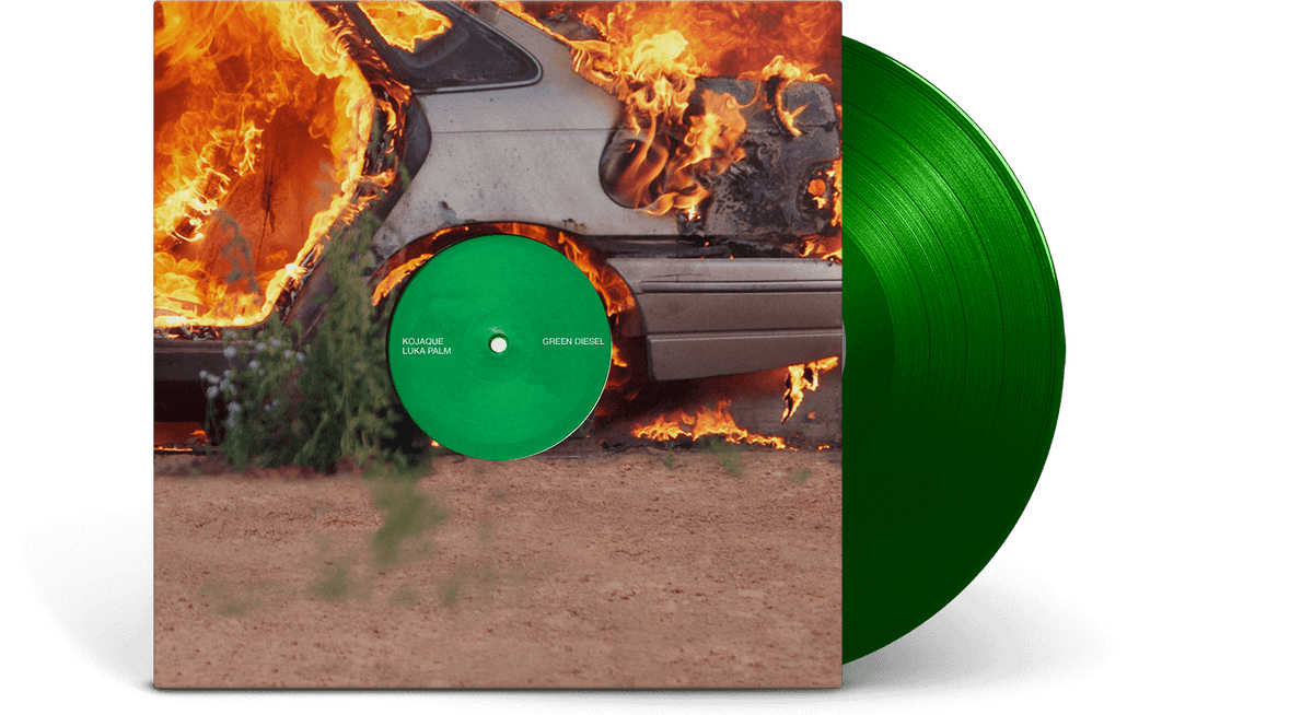 Vinyl - Kojaque & Luka Palm : Green Diesel EP - The Record Hub