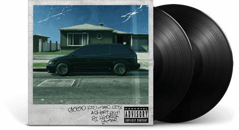 Vinyl - Kendrick Lamar <br> Good Kid, M.A.A.d City - The Record Hub