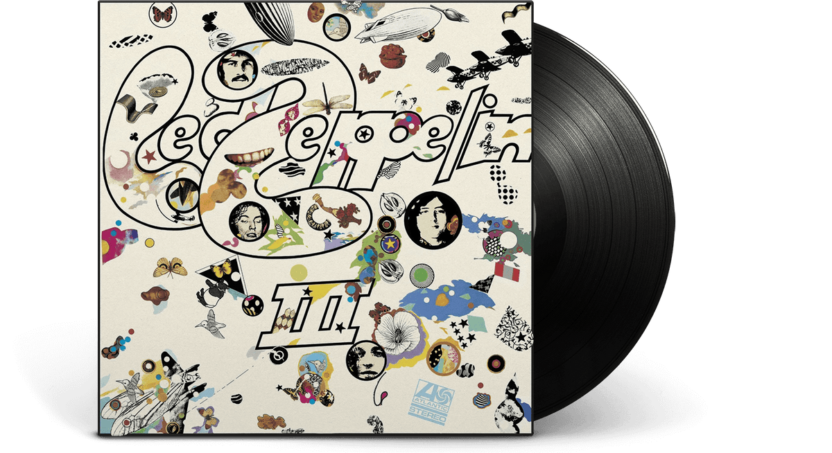 Vinyl - Led Zeppelin <br> Led Zeppelin III - The Record Hub