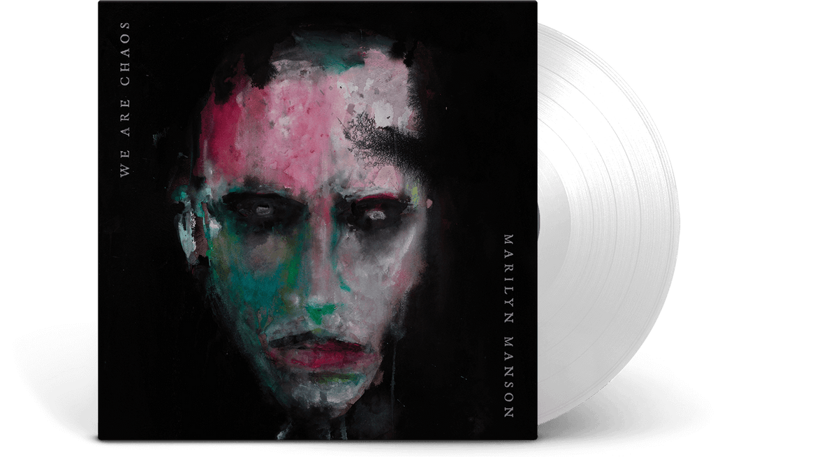 Vinyl - Marilyn Manson (Ltd White Vinyl) : WE ARE CHAOS - The Record Hub