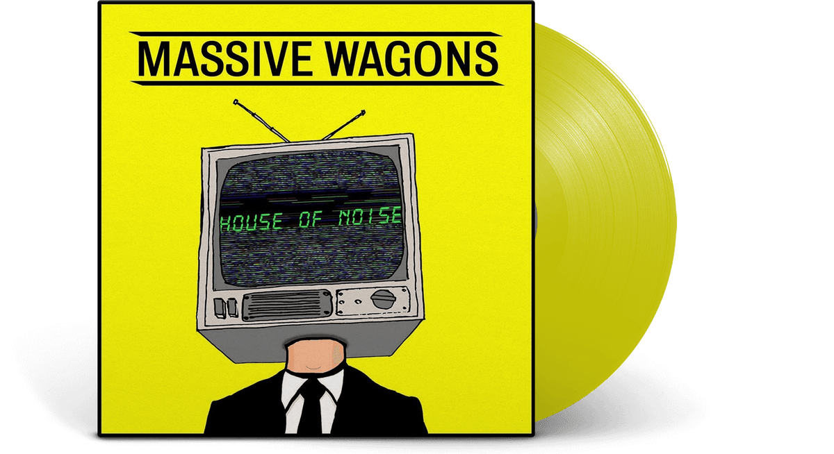 Vinyl - Massive Wagons : House Of Noise (Yellow Vinyl) - The Record Hub