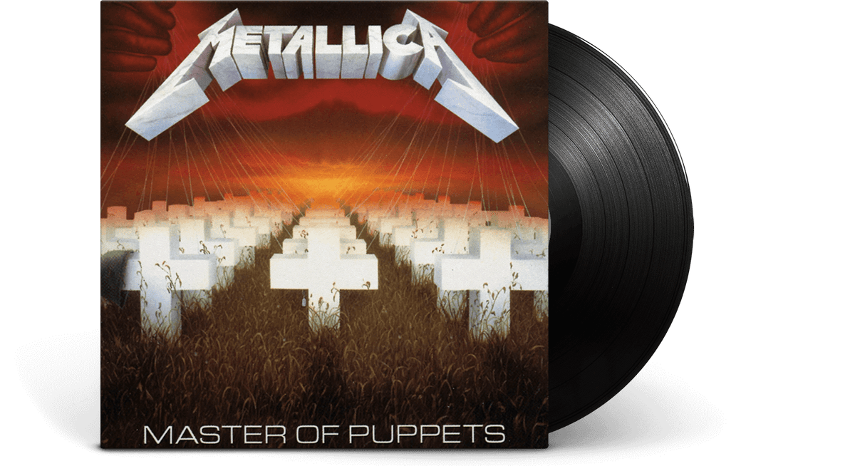 Vinyl - Metallica <br> Master of Puppets - The Record Hub