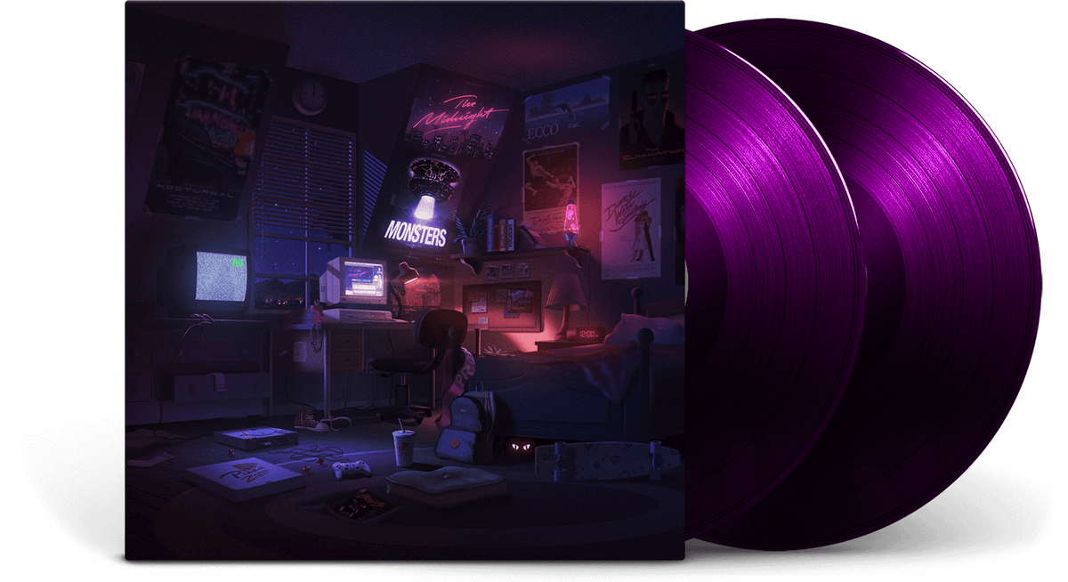 Vinyl - The Midnight : Monsters ( *Coloured vinyl*) - The Record Hub