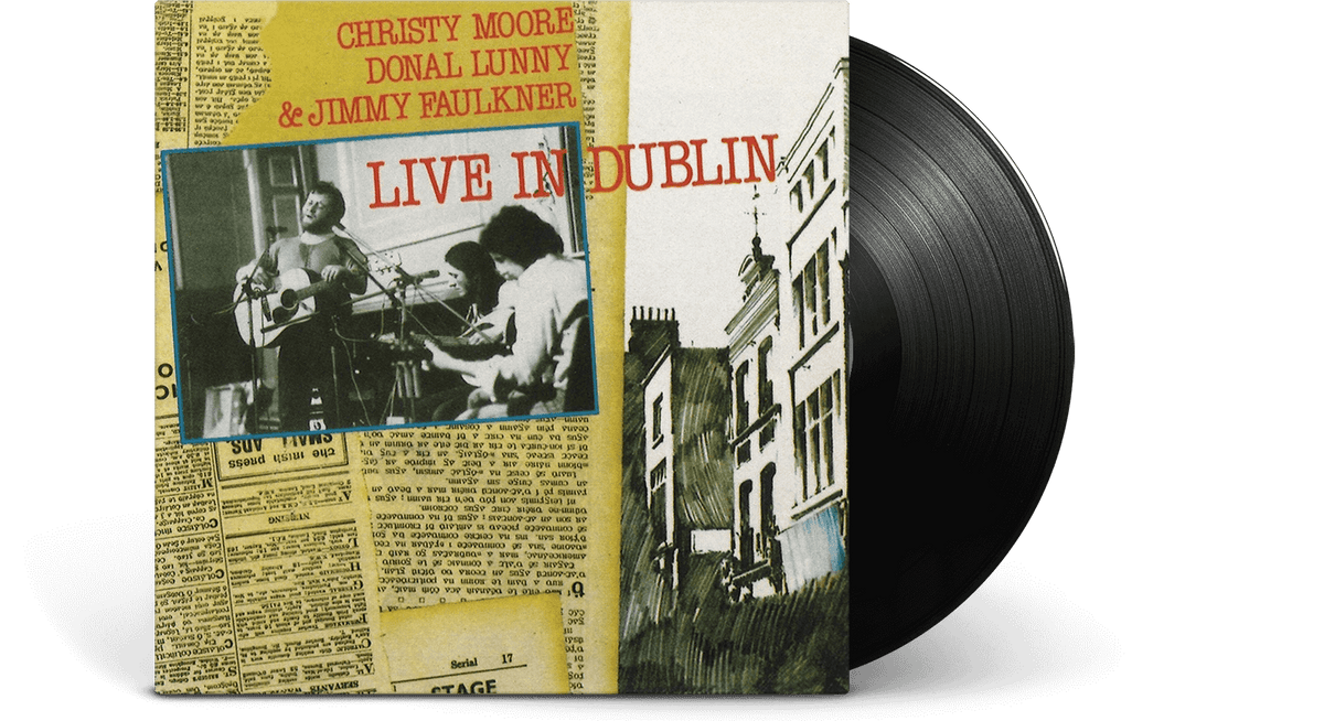 Vinyl - Christy Moore : Live In Dublin - The Record Hub