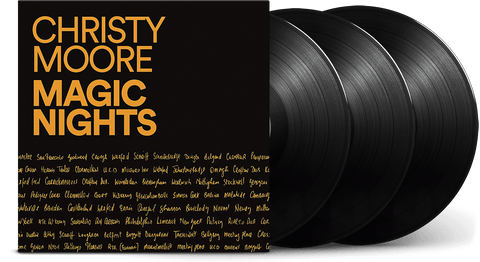 Vinyl - Christy Moore <br> Magic Nights - The Record Hub