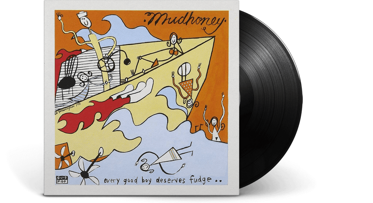 Vinyl - MUDHONEY : EVERY GOOD BOY DESERVES FUDGE - The Record Hub