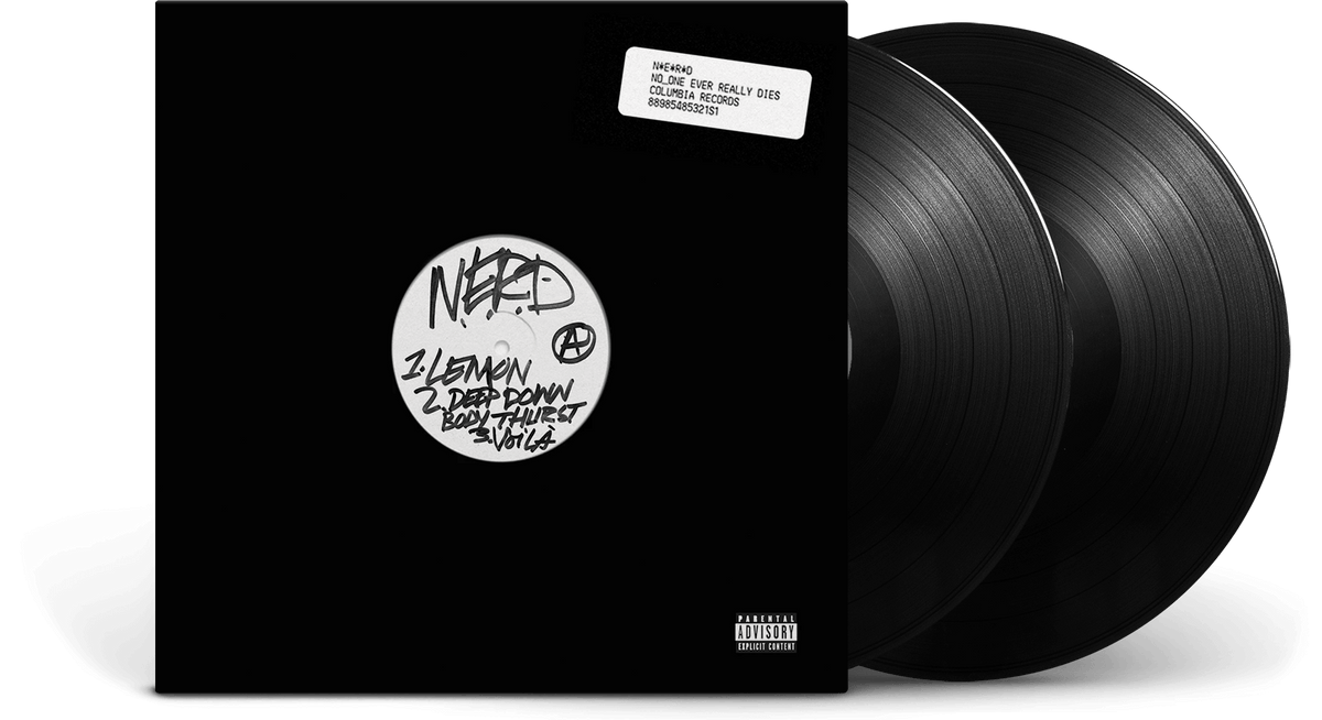 Vinyl - N.E.R.D. : No One Ever Really Dies - The Record Hub