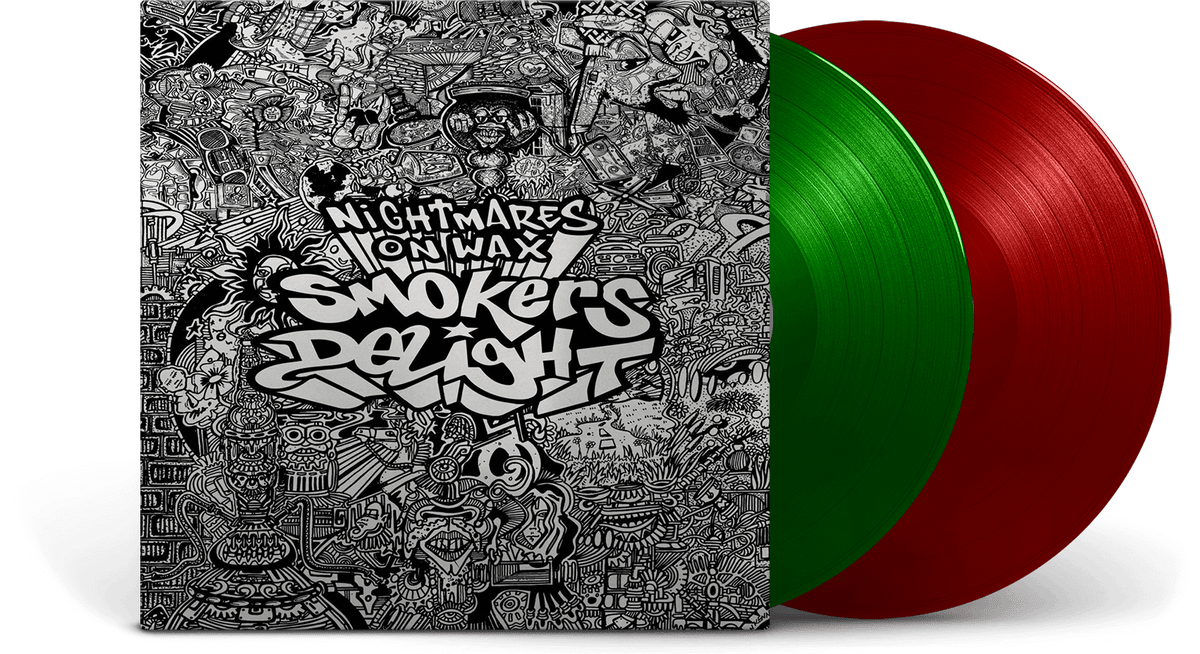 Vinyl - Nightmares On Wax : Smokers Delight [25th Anniversary] - The Record Hub