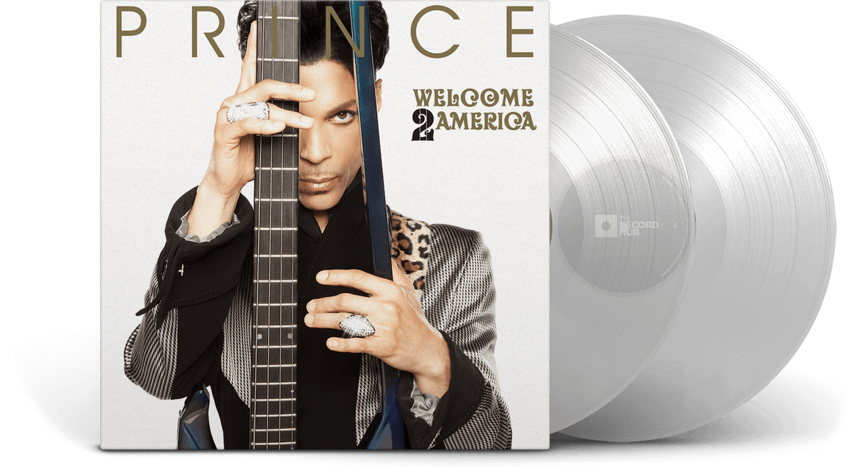 Vinyl - [Pre-Order 30/07] Prince : Welcome 2 America (Clear Vinyl) - The Record Hub