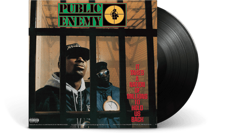 Vinyl - Public Enemy<br> It Takes A Nation Of Millions To Hold Us Back - The Record Hub