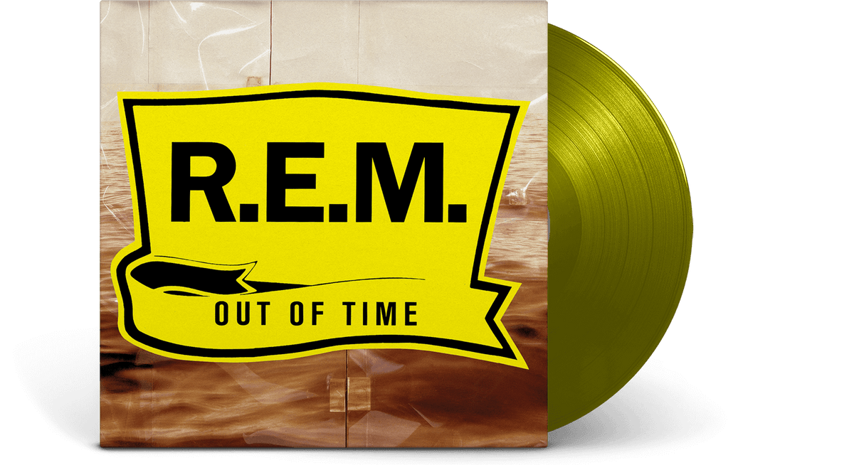 Vinyl - R.E.M. : Out Of Time (Ltd Yellow Vinyl) - The Record Hub