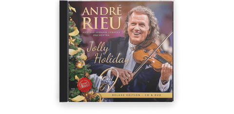Vinyl - Andre Rieu : Jolly Holiday (CD/DVD) - The Record Hub
