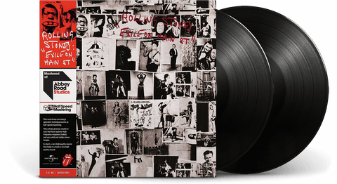 Vinyl - The Rolling Stones <br> Exile On Main Street - The Record Hub