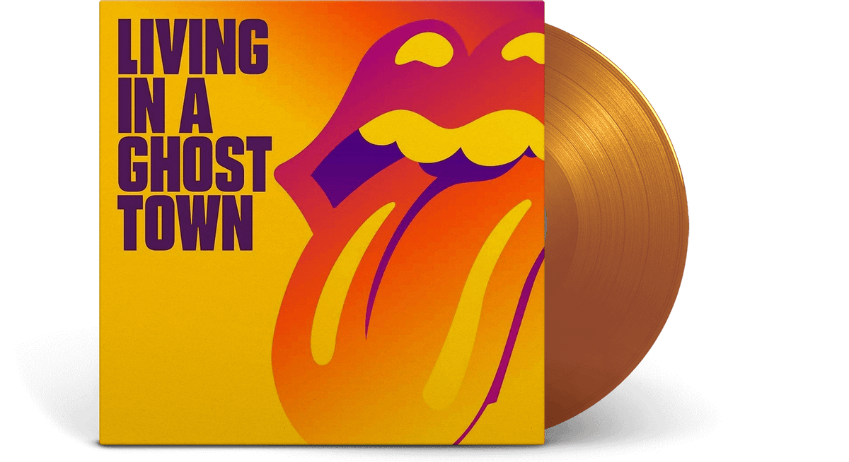 Vinyl - The Rolling Stones : Living In A Ghost Town - The Record Hub