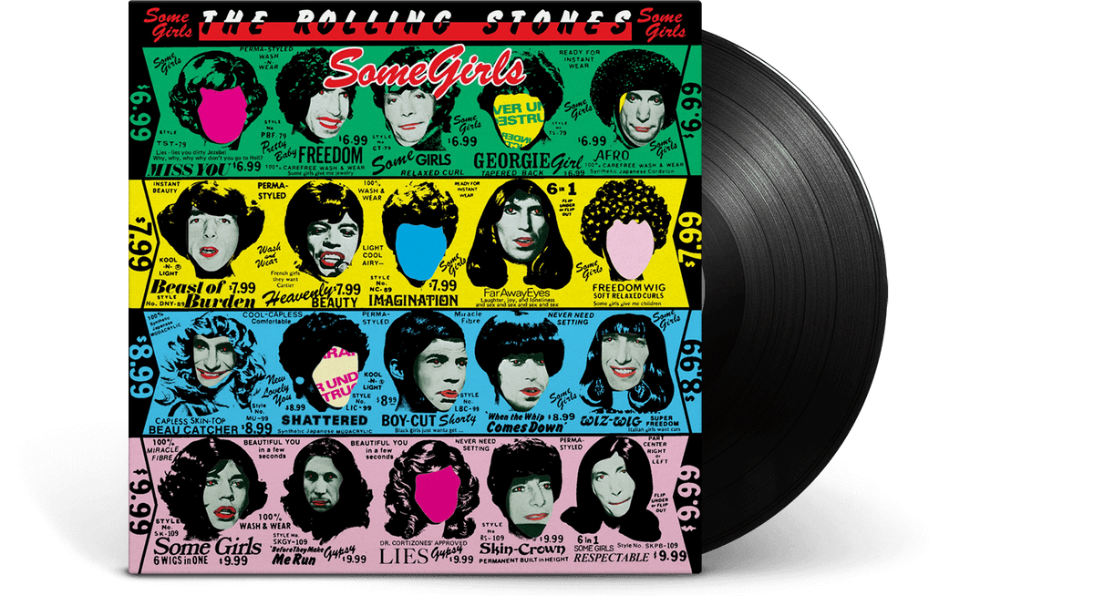 Vinyl - The Rolling Stones <br> Some Girls - The Record Hub