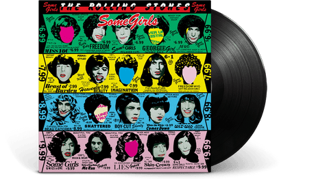 Vinyl - The Rolling Stones : Some Girls - The Record Hub