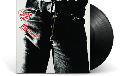 Vinyl - The Rolling Stones <br> Sticky Fingers - The Record Hub