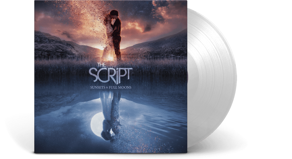 Vinyl - The Script <br> Sunsets & Full Moons - Limited Edition Transparent Vinyl - The Record Hub