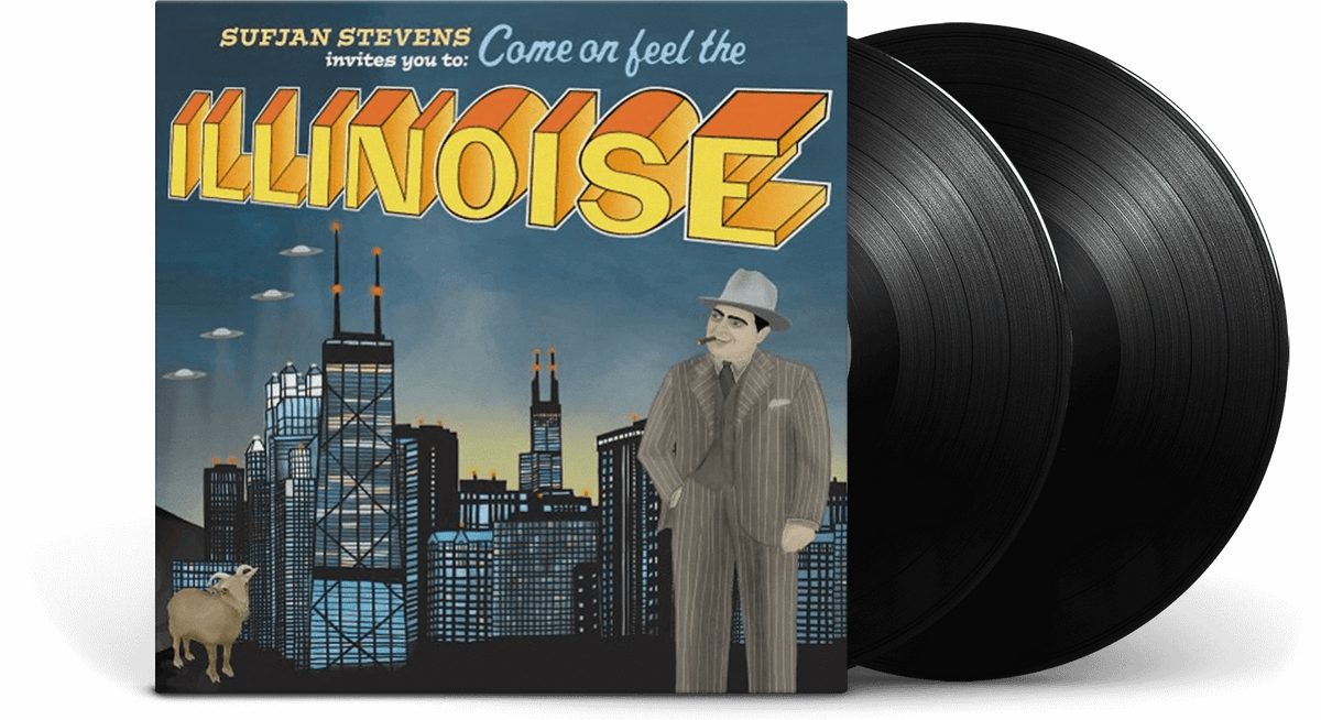 Vinyl - Sufjan Stevens : Illinois - The Record Hub