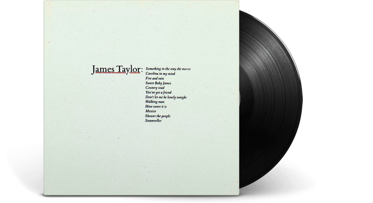 Vinyl - James Taylor : Greatest Hits (Remastered) - The Record Hub