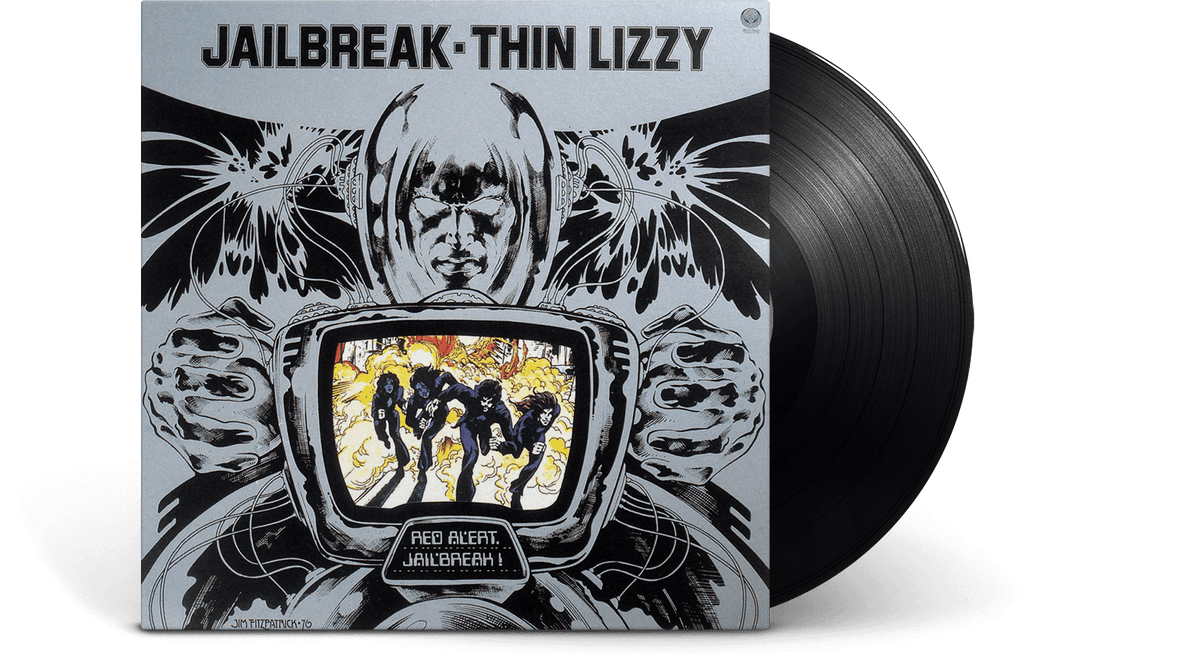 Vinyl - Thin Lizzy : Jailbreak - The Record Hub