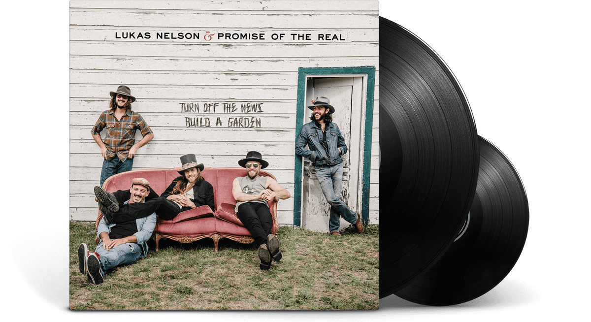 Vinyl - Lukas Nelson : Turn Off The News - The Record Hub