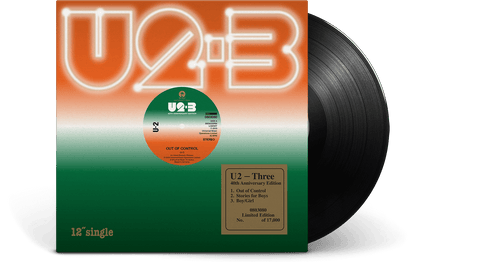Vinyl - U2 <br>3 [40th Anniversary Edition] - The Record Hub