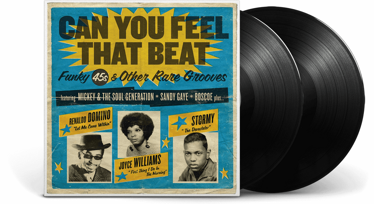 Vinyl - Various Artists : CAN YOU FEEL THAT BEAT: FUNK 45S AND OTHER RARE GROOVES - The Record Hub