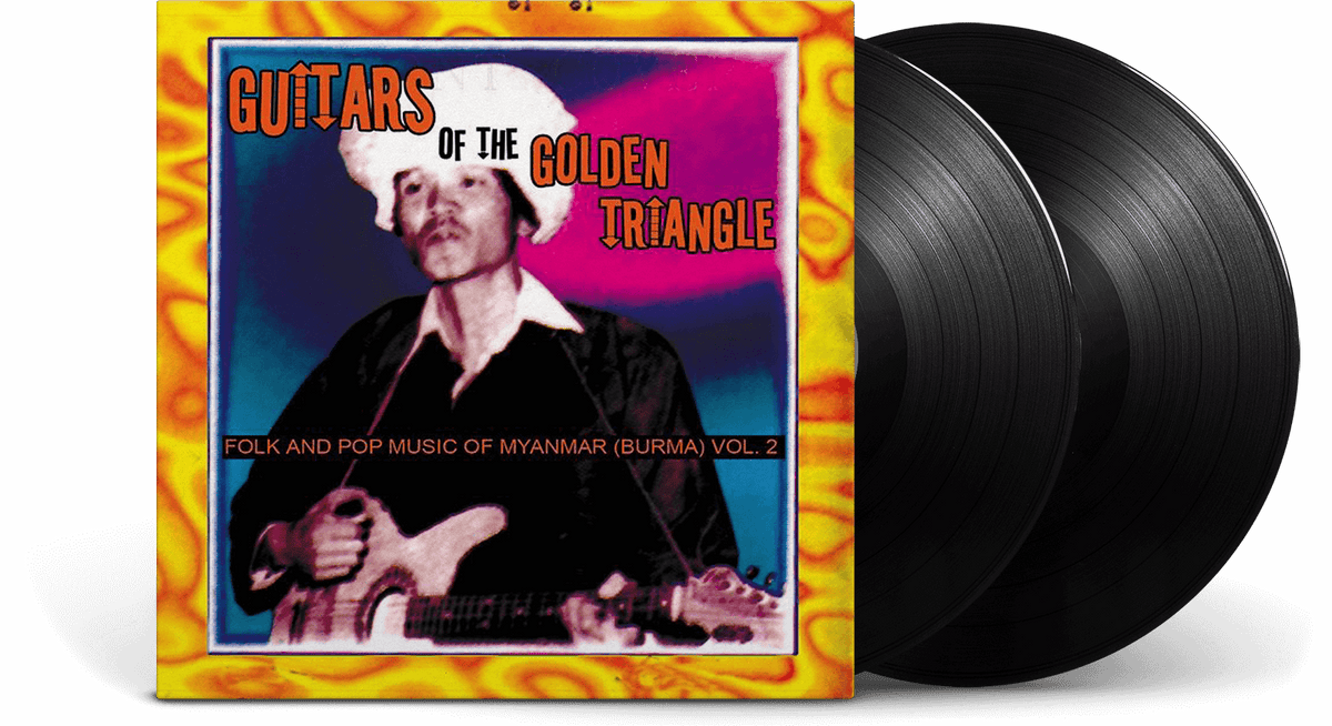 Vinyl - Various Artists : Guitars of the Golden Triangle - The Record Hub