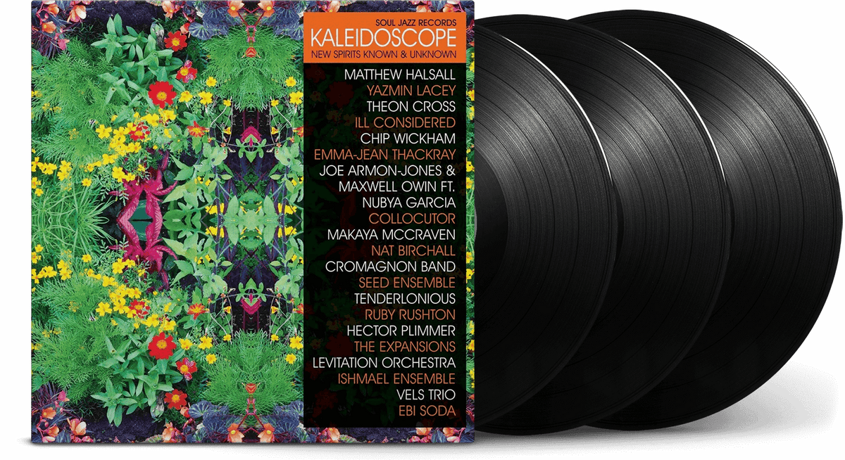 "Vinyl - VA / Soul Jazz Records Presents : Soul Jazz Records presents KALEIDOSCOPE - New Spirits Known and Unknown (w/ bonus 7"") - The Record Hub"
