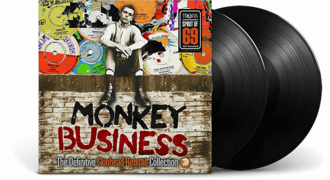 Vinyl - Monkey Business: The Definitive Skinhead Reggae Collection : Monkey Business: The Definitive Skinhead Reggae Collection - The Record Hub