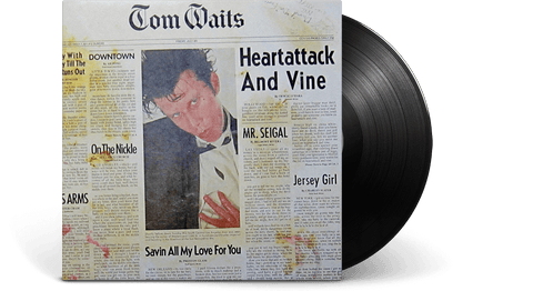 Vinyl - Tom Waits<br> Heartattack And Vine - The Record Hub