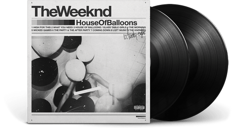 Vinyl - The Weeknd<br>House of Balloons - The Record Hub