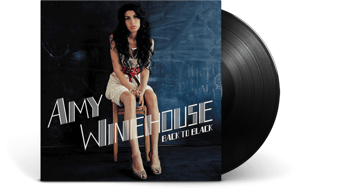 Vinyl - Amy Winehouse<br> Back To Black - The Record Hub