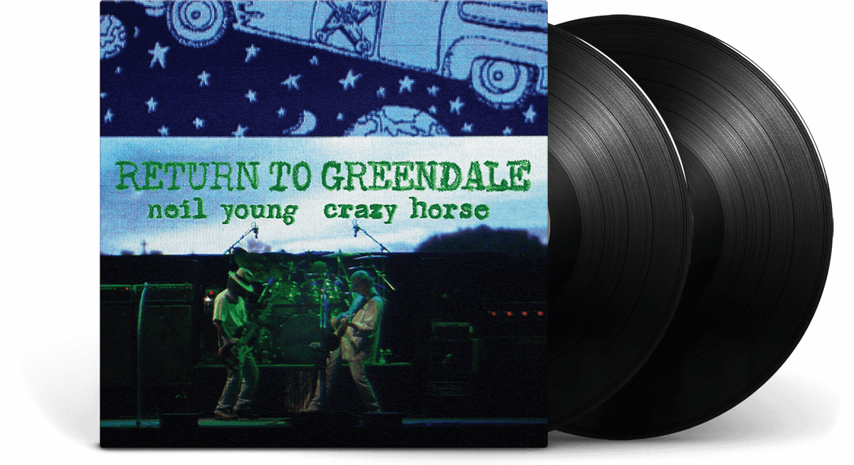 Vinyl - Neil Young & Crazy Horse : Return To Greendale (2LP) - The Record Hub