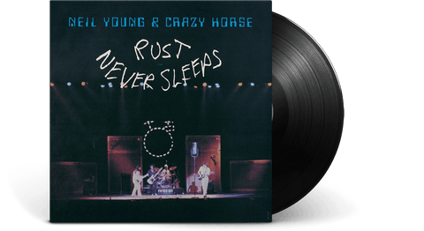 Vinyl - Neil Young & Crazy Horse : Rust Never Sleeps - The Record Hub