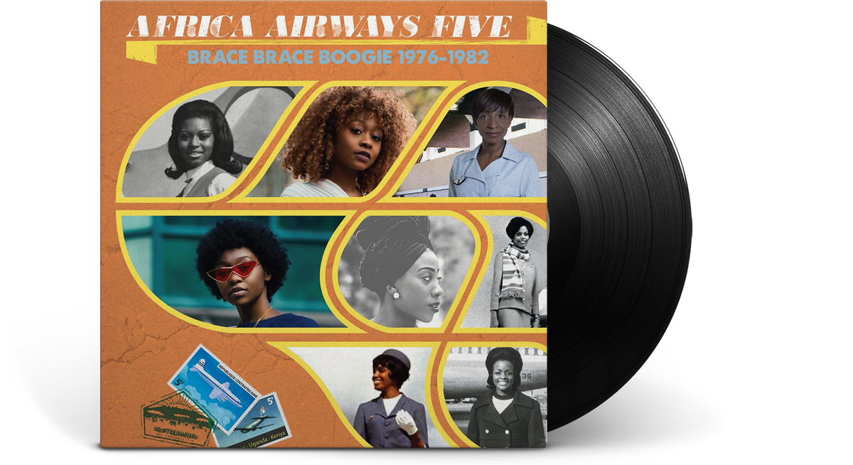 Vinyl - Various Artists : Africa Airways Five (Brace Brace Boogie 1976 - 1982) - The Record Hub
