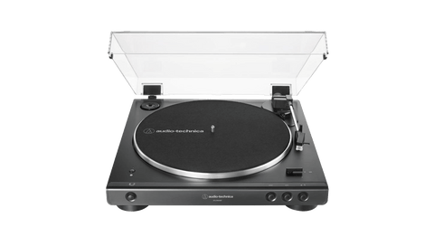 Vinyl - Audio Technica Turntable (ATLP60XBKBT) - The Record Hub