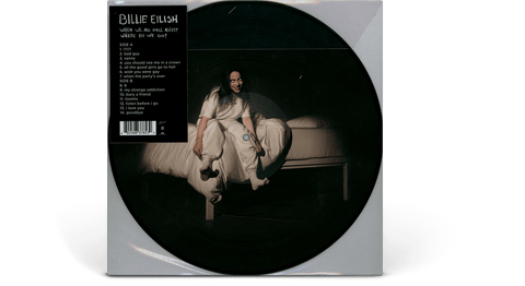 Vinyl - Billie Eilish <br> WHEN WE ALL FALL ASLEEP, WHERE DO WE GO? [LTD Picturedisc] - The Record Hub